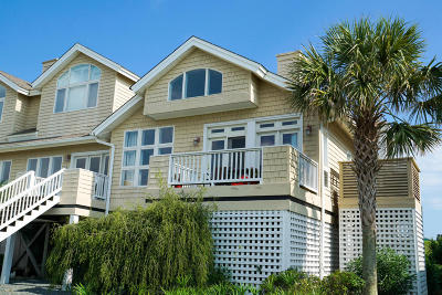 Holden Beach Condo/Townhouse For Sale: 123 Cole Street #1