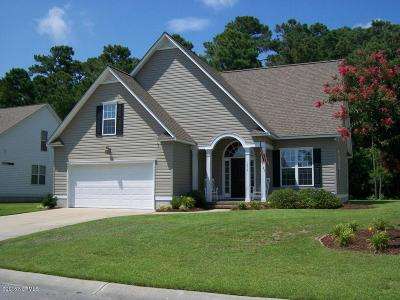 Morehead City Single Family Home For Sale: 1814 Widgeon Drive