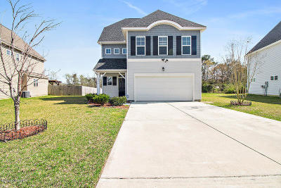 Sneads Ferry Single Family Home For Sale: 421 Bald Cypress Lane