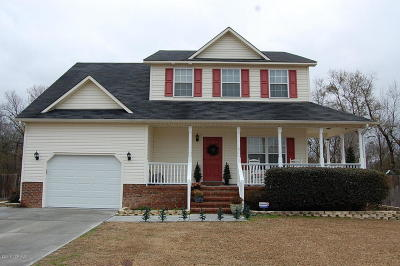 Onslow County Single Family Home For Sale: 146 Forest Bluff Drive
