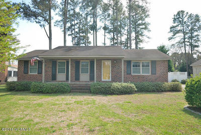Rocky Mount NC Single Family Home For Sale: $129,900