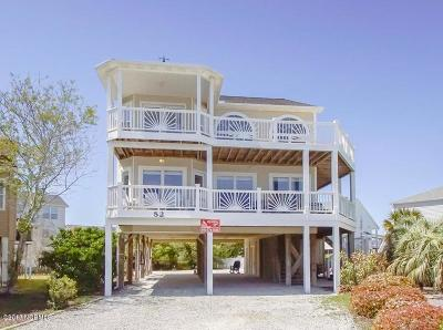 Ocean Isle Beach Single Family Home For Sale: 52 Private Drive