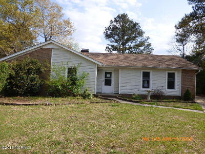 Onslow County Single Family Home Active Contingent: 1404 Adam Court
