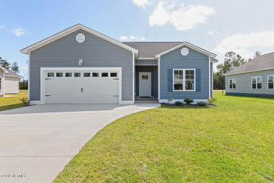 Hubert Single Family Home For Sale: 200 Garland Shores Drive