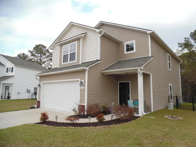Southport Single Family Home Active Contingent: 5258 Windward Way