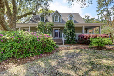 Wilmington Single Family Home For Sale: 300 Cabbage Inlet Lane