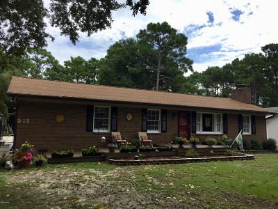 Southport Single Family Home For Sale: 312 N Fodale Avenue