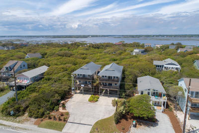 North Topsail Beach, Surf City, Topsail Beach Condo/Townhouse For Sale: 1925 S Shore Drive #A