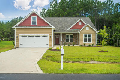 Holly Ridge Single Family Home For Sale: 413 Belhaven Court