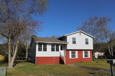 Beaufort Single Family Home For Sale: 122 Jefferson Street