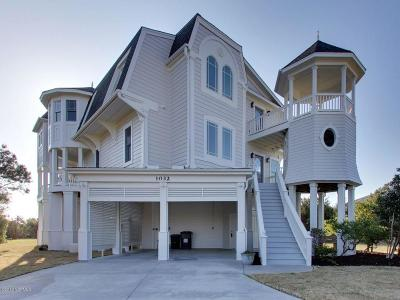 Holden Beach Island, Holden Beach Mainland Single Family Home For Sale: 1032 Tide Ridge Drive