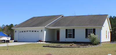 Swansboro Single Family Home For Sale: 301 Clam Digger Court