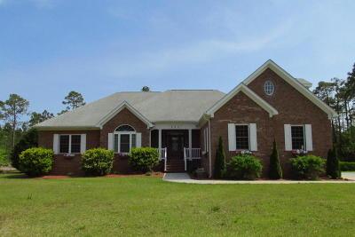Newport Single Family Home For Sale: 333 Sandhills Drive