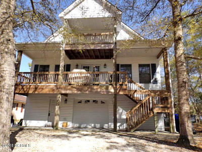 Oak Island Single Family Home For Sale: 110 NW 22nd Street
