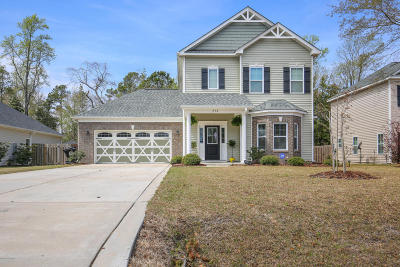 Sneads Ferry Single Family Home For Sale: 250 Marsh Haven Drive