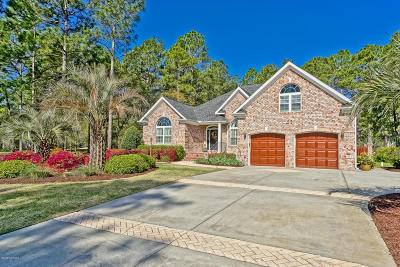 Sunset Beach Single Family Home For Sale: 1197 Kingsmill Court