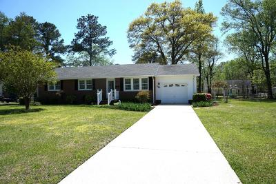 Onslow County Single Family Home For Sale: 715 Kathryn Avenue