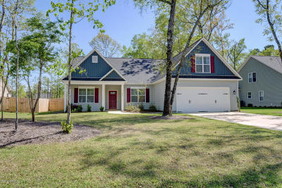 Rocky Point Single Family Home For Sale: 331 Toms Creek Road