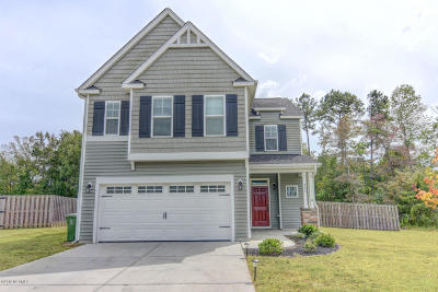 Sneads Ferry Single Family Home For Sale: 303 Long Pond Drive