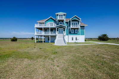 North Topsail Beach, Surf City, Topsail Beach Single Family Home For Sale: 21 Hunter Heath Drive