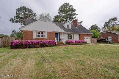Wilmington NC Single Family Home For Sale: $299,900