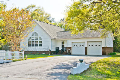 Cape Carteret Single Family Home For Sale: 116 Lejeune Road