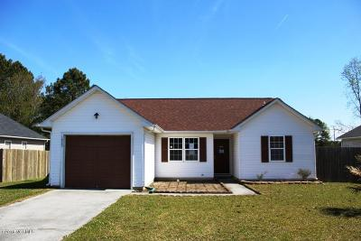 Jacksonville Single Family Home Active Contingent: 1023 Furia Drive
