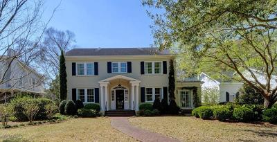 Wilmington Single Family Home For Sale: 2522 Mimosa Place