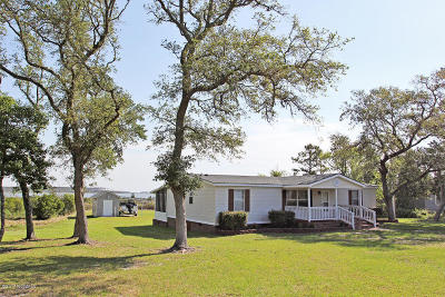 Harkers Island Manufactured Home For Sale: 671 Bayview Drive