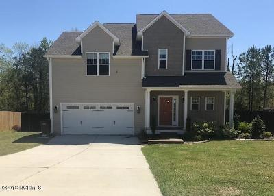 Onslow County Single Family Home Active Contingent: 403 Jasmine Lane