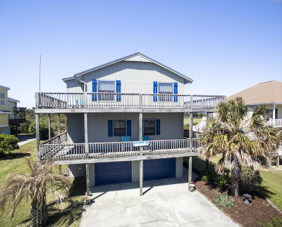 Emerald Isle Single Family Home For Sale: 105 Channel Drive