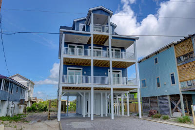 North Topsail Beach, Surf City, Topsail Beach Single Family Home For Sale: 2621 S Shore Drive