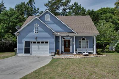 Emerald Isle Single Family Home For Sale: 436 Emerald Circle