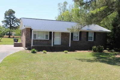 Chadbourn Single Family Home For Sale: 2214 Bird Cage Road