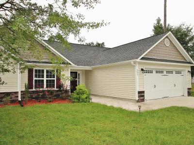 Holly Ridge, Sneads Ferry, Surf City, Topsail Beach Rental For Rent: 221 Marsh Haven Drive