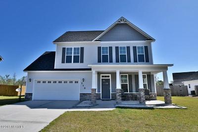 Onslow County Single Family Home For Sale: 710 Ashley Meadow Lane Lane