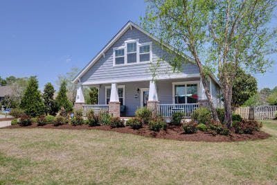 Holly Ridge Single Family Home For Sale: 112 Seaward Drive