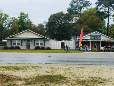 Brunswick County Commercial For Sale: 3337 Holden Beach Road SW