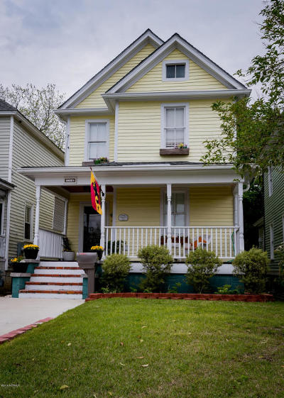 Single Family Home For Sale: 1112 National Avenue