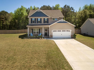 Onslow County Single Family Home For Sale: 203 Russell Farm Drive