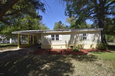 New Bern Single Family Home For Sale: 2816 Oakland Avenue
