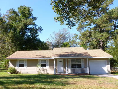 Jacksonville Rental For Rent: 1531 Onslow Pines Road