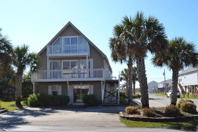 North Topsail Beach, Surf City, Topsail Beach Single Family Home For Sale: 1402 N New River Drive