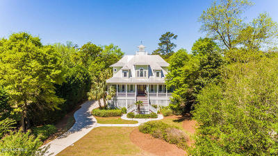 Wilmington NC Single Family Home For Sale: $1,485,000