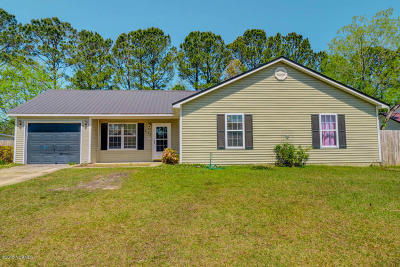 Jacksonville Single Family Home For Sale: 335 Running Road