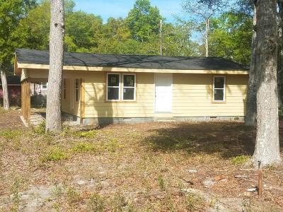 Ocean Isle Beach NC Single Family Home For Sale: $82,500