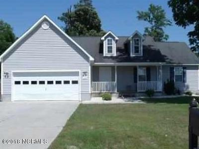 Holly Ridge, Sneads Ferry, Surf City, Topsail Beach Rental For Rent: 100 Knotts Court