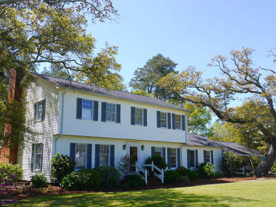 Morehead City Single Family Home For Sale: 1745 River Drive