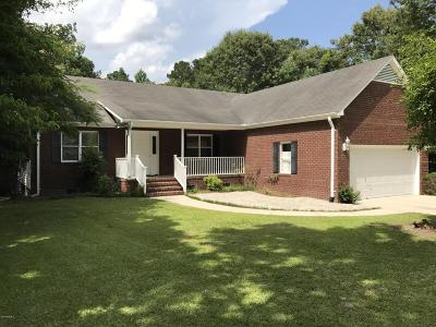 New Bern Single Family Home For Sale: 2127 Perrytown Loop Rd. Road