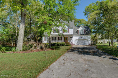 Sneads Ferry Single Family Home For Sale: 1360 Chadwick Shores Drive